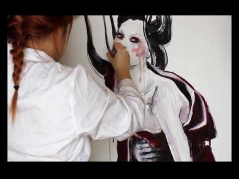 speed-painting-geisha-abstract.html