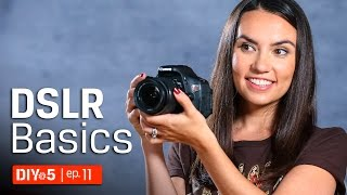 DSLR basics - Canon Camera Settings 📷 - Kingston DIY in 5 Ep 11