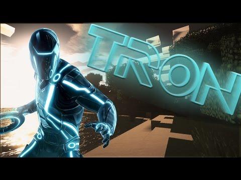 Minecraft mody! TRONOWE DYSKI MOTORY | TRON MOD!
