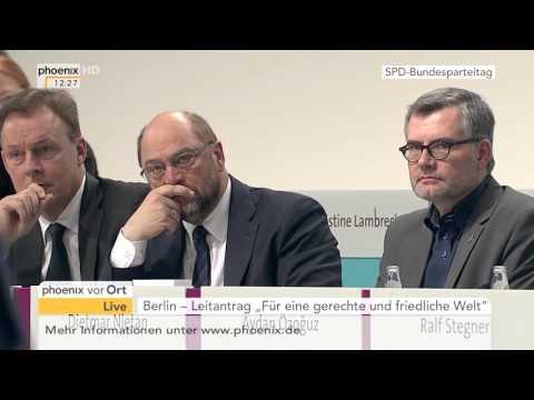 SPD-Parteitag: Rede von Außenminister Steinmeier am 10.12.2015
