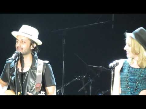 Atif Aslam With Nina Noir (one Who Learnt From Michael Jackson's Vocal Coach) video