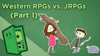Western RPGs vs Japanese RPGs - I: What Makes Them Different? - Extra Credits