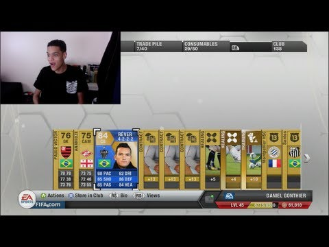 300K TOTS PACK OPENING WITH 2 TOTS PLAYERS! - FIFA 13 ULTIMATE TEAM!