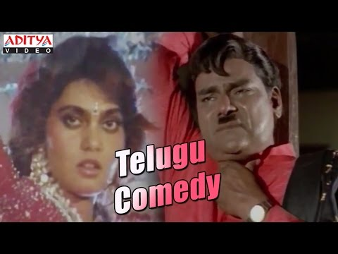 Telugu Comedy Scene By Kota Srinivas Rao And Silk Smitha video