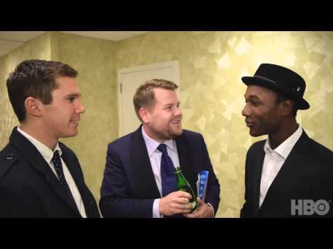 Real Time with Bill Maher: Backstage with Aloe Blacc and James Corden (HBO)