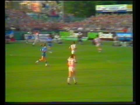 Filmarchief BV Veendam 1986 nacompt. Veendam-Willem II 1-0