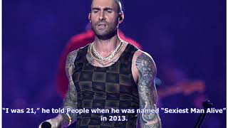 Here's a road map of the tattoos a shirtless Adam Levine showed off at the Super Bowl