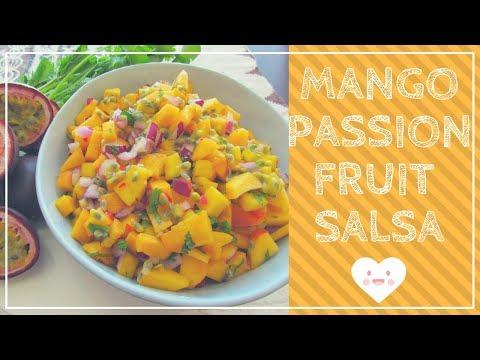 Mango Passionfruit Salsa Recipe