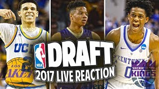 2017 NBA DRAFT LIVE REACTION!! JIMMY BUTLER TRADED!