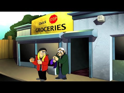 Jay &amp; Silent Bob's Super Groovy Cartoon Movie - Official Trailer #1 [HD]