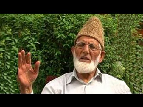Narendra Modi sent emissaries, claims Syed Ali Shah Geelani; BJP denies it