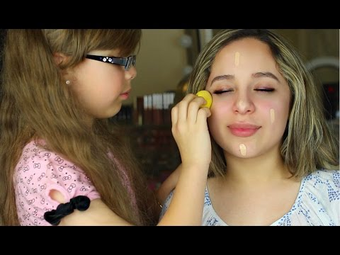 SISTER DOES MY MAKEUP TAG! 2016