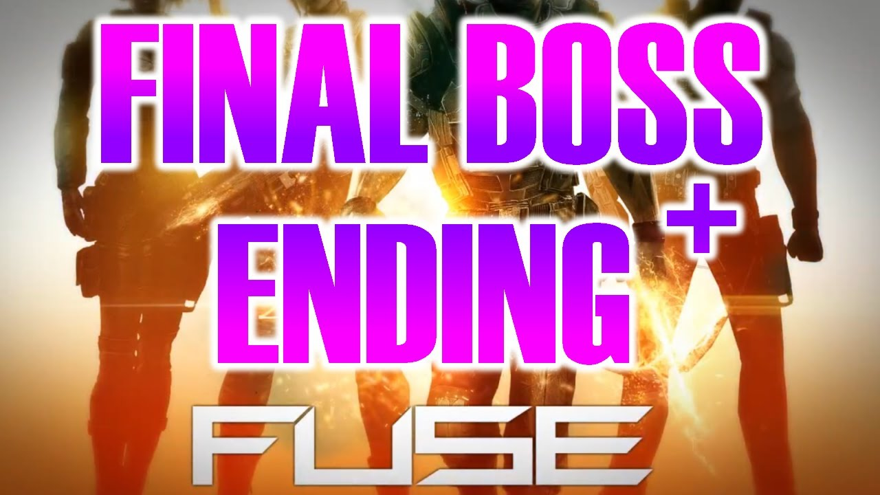 Fuse Xbox 360 Final : Fuse video game final boss fight battle