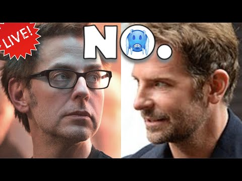 WEW! BRADLEY COOPER REFUSES TO DIRECT JAMES GUNN'S SCRIPT FOR GUARDIANS OF THE GALAXY 3!