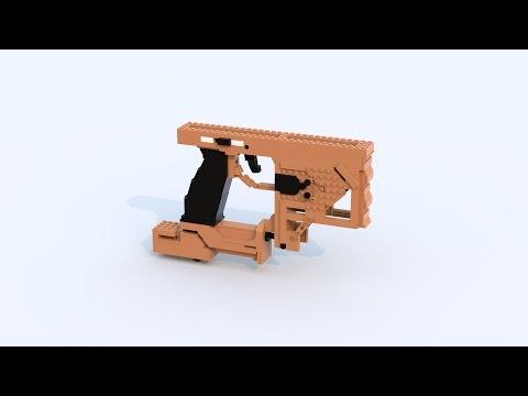 Custom Lego Gun MOC: HVK-30 [BO3] (TimeLapse PT.1)