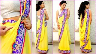 4 NEW Saree Draping Styles - How To Wear Sari Perfectly to Look SLIM & TALL | Anaysa