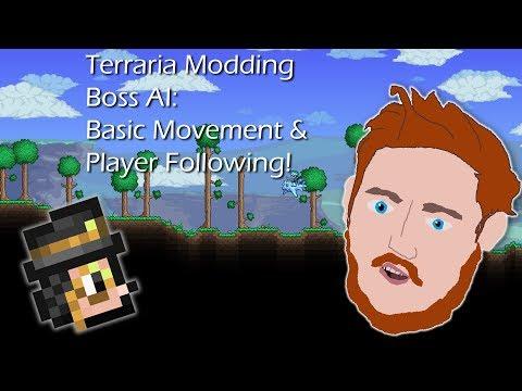 Terraria Modding Tutorials: Boss AI-  Basic Movement (Player Follow)