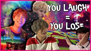 "BTS ""You Laugh = You Lose"" Challenge"