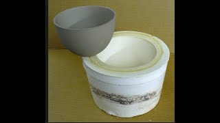 How to make a mold for slip casting