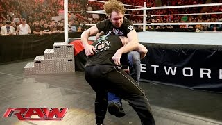 Dean Ambrose welcomes Brock Lesnar's brutality: Raw, February 8, 2016