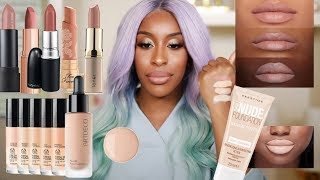Trying NUDE Makeup...But What IS Nude?! | Jackie Aina