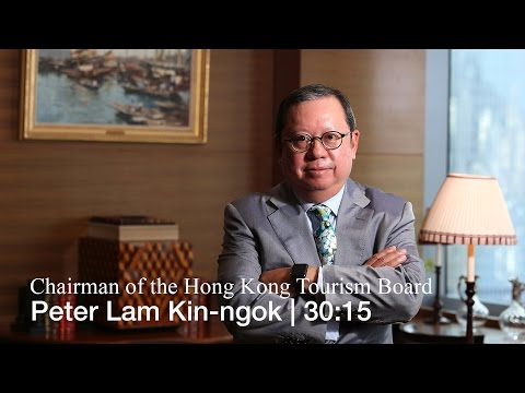 Business Leader Peter Lam Kin-ngok, chairman of the Hong Kong Tourism Board