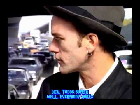 R.E.M. - Everybody Hurts subtitulado en español - inglés Music Videos