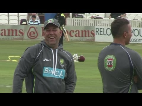 New Cricket Coach Darren Lehmann leads Australia Training Session | sntv