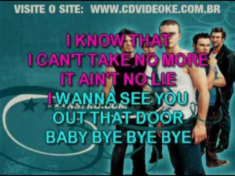 N'sync   Bye Bye Bye