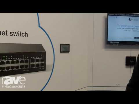 InfoComm 2016: Crestron Electronics Presents Network AV Product Line