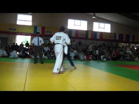 JUDO CONTEST GERMANY VS FRANCE  NOELLE GRANDJEAN
