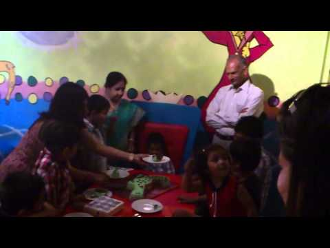 Akul 3rd birthday party wishes in hindi