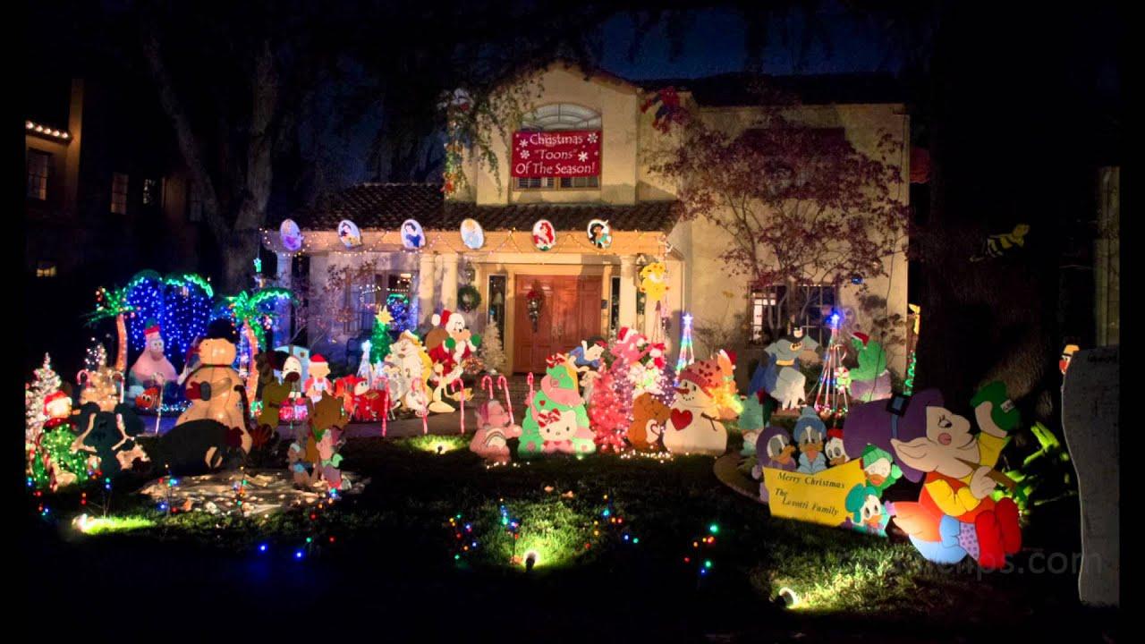 Christmas Lights In Sacramento