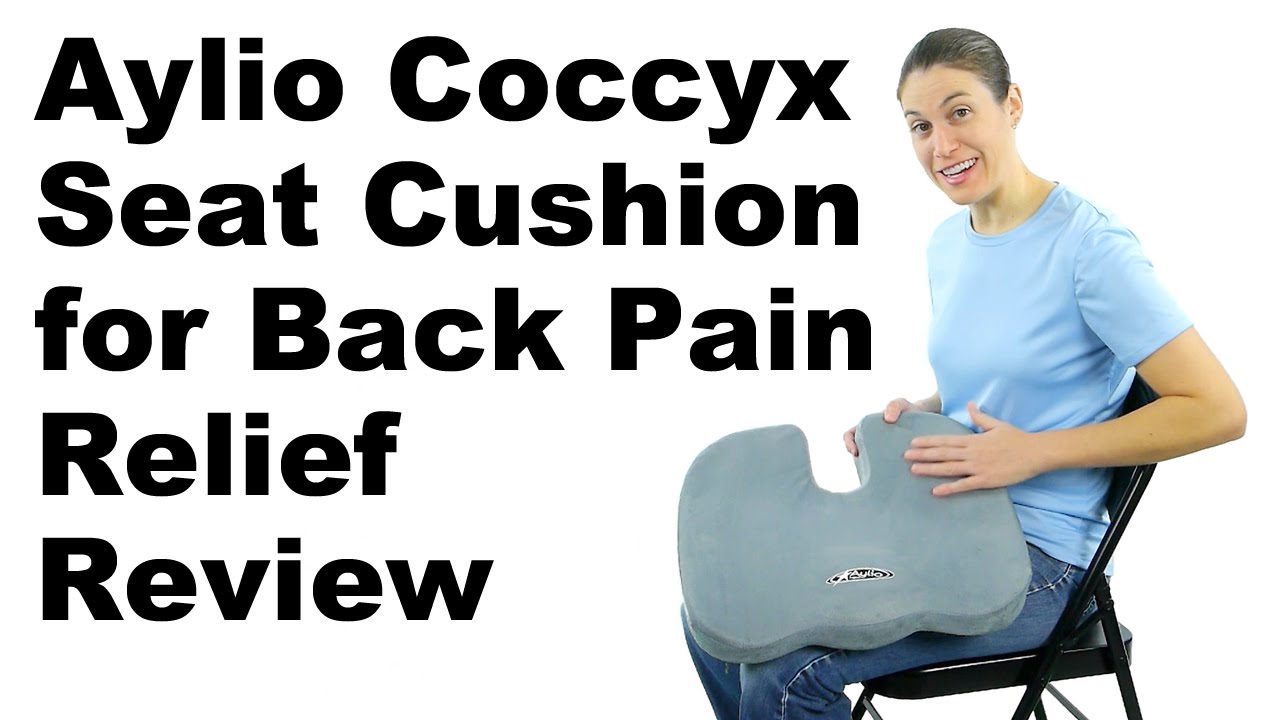 Aylio Coccyx Seat Cushion For Back Pain Relief Review