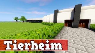 Wie baut man ein Tierheim in Minecraft | Minecraft Tierheim Deutsch Bauen Tutorial