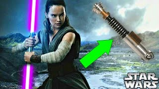 What Color Will Rey's Lightsaber Be In Episode 9 - Star Wars The Last Jedi Explained (SPOILERS)