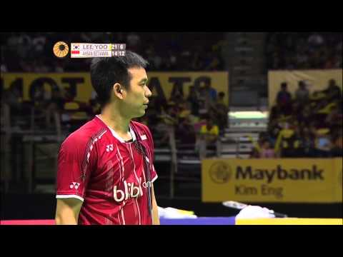 Lee. Y. D/Yoo Y. S. vs M. Ahsan/H. Setiawan   MD F Match 5 - Maybank Malaysia Open 2015