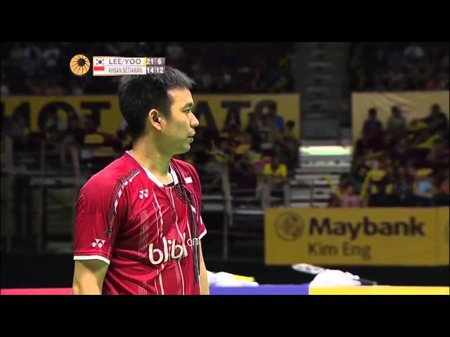 Lee. Y. D/Yoo Y. S. vs M. Ahsan/H. Setiawan | MD F Match 5 - Maybank Malaysia Open 2015