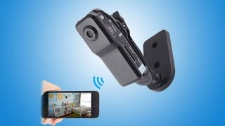 WISEUP Smallest HD Portable P2P Wifi Mini DV Camcorder Support Smartphone P2P Live View