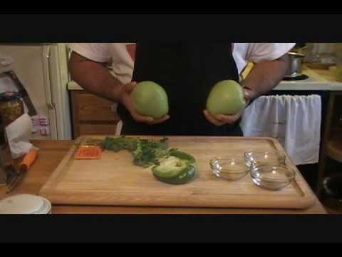 receta de CHAYOTES GUISADOS buena para vegetarianos o no
