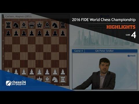 2016 FIDE World Chess Championship - Highlights - Game 4