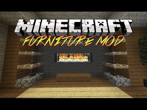 Minecraft Furniture Mod! - Mod Showcase/Mod Review 1.8/1.7.4 [HD]