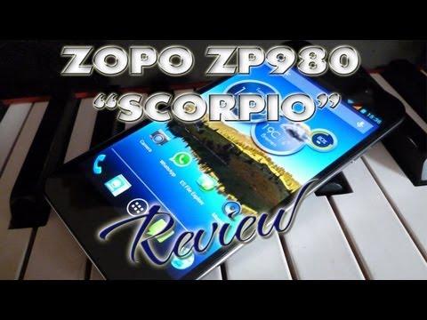 Zopo ZP980 Scorpio Review Test - Full HD - MT6589 Quadcore - Dualsim - Pandawill - ColonelZap