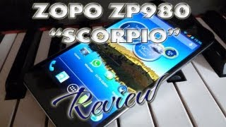 Zopo ZP980 Scorpio Review Test - Full HD - MT6589 Quadcore - Dualsim - Pandawill - ColonelZap