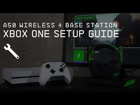 A50 Wireless + Base Station Xbox One Setup Guide    ASTRO Gaming
