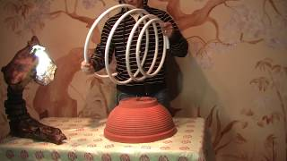 How to make a chandelier. Люстра из трубы и стаканов.