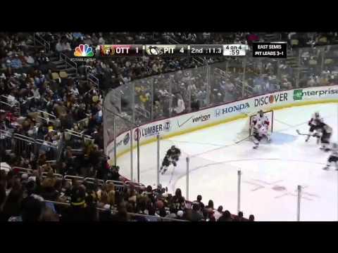 Evgeni Malkin Goal Against Ottawa Senators 5/24/13 [Game 5]