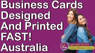 Online business card printing video business cards brisbane best business card design and printing brisbane qld reheart Choice Image