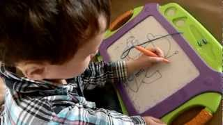 Amazing 4 year old artist!