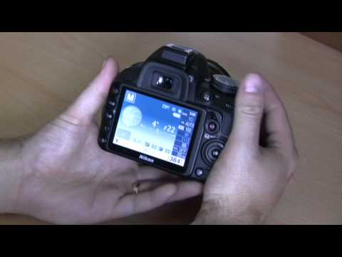 Nikon D3100 basic beginner operations Part 2. Manual and semi manual modes